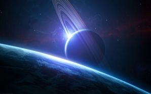 Space planet wallpaper