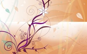Vector Flower Patterns Background 6023