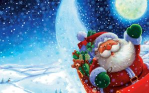 Free Adorable Santa Claus Picture wallpaper
