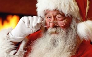 Free Adorable Old Santa Claus Picture wallpaper