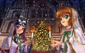 Free Pray in Christmas wallpaper