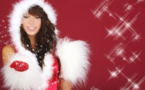 Free Hot Christmas Angel wallpaper