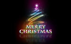 Free 3D Merry Christmas wallpaper