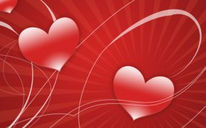 Free Red Love Heart wallpaper