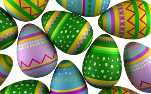 Free Cute Easter Day Eggs Picture HD wallpaper