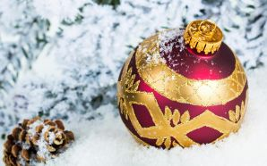 Christmas and Happy New Year - Christmas Ball