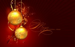 Merry xmas and Happy New Year - A Magic Christmas
