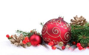 Merry xmas and Happy New Year - Pretty christmas decoration