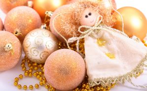 Merry xmas and Happy New Year - Christmas angel