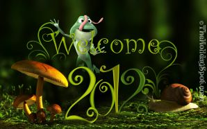 2012 Happy New Year - welcome 2012