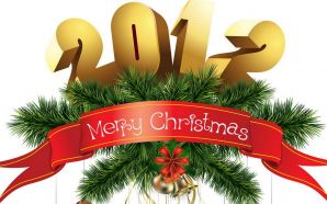 2012 Happy New Year - Merry Christmas