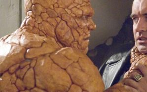 Michael Chiklis (Ben Grimm) in Fantastic Four: Rise of the Silver Surfer (2007)