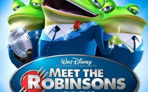 Frankie the Frog in MEET THE ROBINSONS