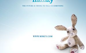 Mimzy:a beat-up stuffed toy rabbit in movie The Last Mimzy (2007)