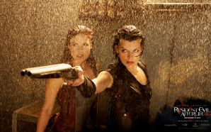 Ali Larter in Resident Evil: Afterlife Wallpaper 5