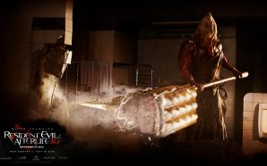 Ray Olubowale in Resident Evil: Afterlife Wallpaper 4