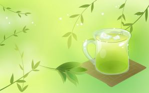 The Icy Green Tea