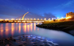 Beautiful Bridges wallpaper free - Big City Lights