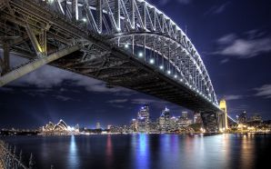Beautiful Bridges wallpaper free - Bridge To The City