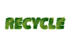 greenpeace symbols recycle text