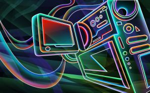 Neon wallpaper - 3D neon colorful