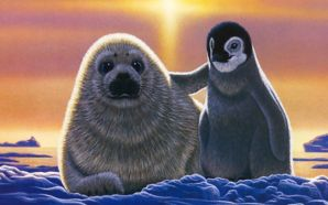 Seal and Baby Penguin