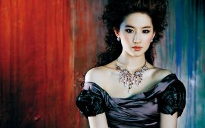 LiuYiFei beautiful girl wallpaper